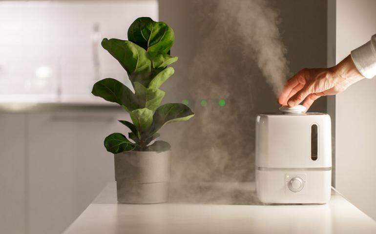 Heater and Humidifier During Winter